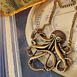 Naisten mustekala retro pitkä kaulakoru