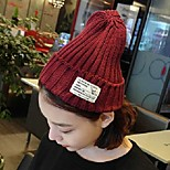 Women Knitwear Beanie/Slouchy , Vintage/Cute/Casual Winter