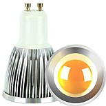 Spot Gradable / Décorative Blanc Chaud / Blanc Froid ON 2 pièces MR16 GU10 6 W COB 600 LM AC 100-240 / AC 110-130 V