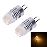G4 W 1 Krachtige LED 70~80 LM Warm wit/Koel wit 2-pins lampen DC 12 V