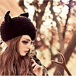 Women Beanie/Slouchy , Casual Winter