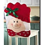Mrs Santa Claus Kitchen Table Chair Covers 70*51CM