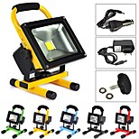 20 W 1 High Power LED 2000 LM Warm White Rechargeable Flood Lights AC 85-265 V