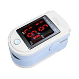 dedos CONTEC oximetria cms50dl tela, tamanho pequeno, baixo consumo de energia, a exibição dos valores de freqüência do pulso de oxigênio levou