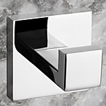 Contemporary Mirror Polished Finish Stainless Steel Material Robe Hook