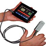 monitor de contec® pm60a de mão tela adultos, crianças e bebés pacote \ (opcional) sonda automotivo oximetria de toque