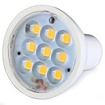 GU5.3(MR16) 3 W 9 SMD 270 LM Warm White MR16 Spot Lights AC 100-240 V