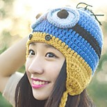 Women Wool Beanie/Slouchy , Cute/Casual Winter