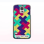 Personalized Phone Case - Cross Design Metal Case for Samsung Galaxy S5 mini