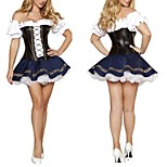 Sexy German Beer Girl French Maid Fancy Dress Halloween Costumefor Carnival