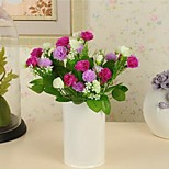 Polyester Carnation Artificial Flowers