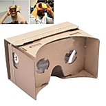 DIY Google Cardboard Virtual Reality 3D Glasses for iPhone 6 Plus / Samsung Galaxy Note 4 / Note 3/ LG G3 / Nokia / MOTO