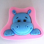 Cow Head Animal Fondant Cake Silicone Mold Cake Decoration Tools,L8.5cm*W6cm*H2.2cm