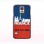 Personalized Phone Case - French Landscape Design Metal Case for Samsung Galaxy S5 mini