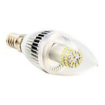 E14 4 W 50 SMD 3014 280 LM Warm White/Cool White C Candle Bulbs AC 220-240 V