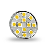 JUXIANG GU4 3 W 12 SMD 5050 300 LM Warm White/Cool White MR11 Decorative Spot Lights DC 12 V