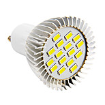 GU10 / E26/E27 4 W 16 SMD 5730 280 LM Cool White Spot Lights AC 220-240 V