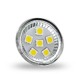 JUXIANG GU4 2 W 6 SMD 5050 200 LM Warm White/Cool White MR11 Decorative Spot Lights DC 12 V