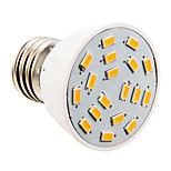 GU10/E26/E27 4 W 18 SMD 5730 280 LM Warm White/Cool White Candle Bulbs AC 110-130 V
