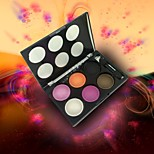 6 Eyeshadow Palette Dry Eyeshadow palette Powder Normal