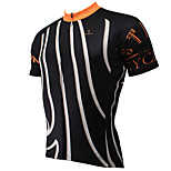 PaladinSport Men's Short Sleeve Cycling Jersey New Style The iron bar 100% Polyester