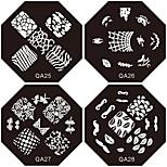 12PCS 12-Colors Ultra-thin Diamond-Shape Nail Art Paillette Glitter Sticker