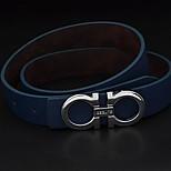 Men Waist Belt , Work/Casual Alloy/Leather