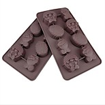8 Hole Rabbit Egg Shape Cake Ice Jelly Chocolate Molds,Silicone 21.8×11.8×2.5CM(8.6×4.7×1.0INCH)