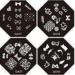 Nail Art Stamping/Stamper Image Template Plate Nail Stencils/Molds