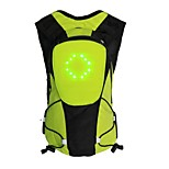 BIKEMAN™ Remote Control LED Light-up Warning 5L Backpack