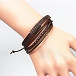 Men's Fashion Vintage Leather Bracelet