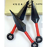 Weapon Inspired by Naruto Cosplay Anime Cosplay Accessories Weapon Black Engineering Plastic Male / Female
