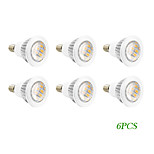 6 pcs E14/GU10 4 W 16 SMD 5730 280 LM Warm White Spot Lights AC 220-240/AC 110-130 V