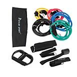 KYLIN SPORT™ 12PCS  Resistance Bands Exercise Set Fitness Tube Yoga Workout Pilates Trainning Sets