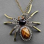 Naisten Riipus-kaulakorut Animal Shape Hämähäkit Metalliseos Muoti Ruudun väri Korut Varten