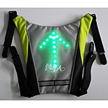 BIKEMAN™ Remote Control LED light-up Warning Bicycle backpack pendan