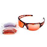 Sunglasses Men / Women / Unisex's Classic / Sports / Fashion Rectangle Leopard Sunglasses Half-Rim