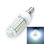 E14/E27 12W 1200LM 69-5730 SMD Warm/Cool White Light LED Corn Bulb (AC 220~240V)