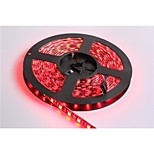Black PCB Board Waterproof Red/White/Warm White 5M 300x5050 SMD White Light LED Strip Lamp DC 12V