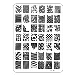XYSeries Chic Design Nail Art Image Stamp Stamping Plates Manicure Template XY15