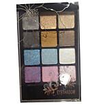 12 Eyeshadow Palette Dry Eyeshadow palette Powder Normal Smokey Makeup / Daily Makeup / Party Makeup
