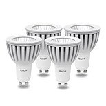 4 pcs IENON® GU10 5 W COB 400-450 LM Warm White / Cool White MR16 Spot Lights AC 100-240 V