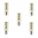 5 pcs E14/G9/E26/E27 15 W 69 SMD 5730 1500 LM Warm White/Cool White Corn Bulbs AC 220-240 V