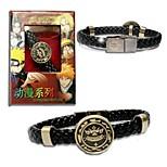 Hitman Reborn Punk Style  PU Leather Bracelet Cosplay Accessory