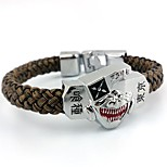 Jewelry Inspired by Tokyo Ghoul Cosplay Anime Cosplay Accessories Bracelet Brown Alloy Male