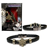 Jewelry Inspired by Black Butler Cosplay Anime Cosplay Accessories Bracelet Black Alloy Male