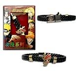 BLEACH  Kurosaki Ichigo Punk Style PU Leather Bracelet Cosplay Accessory