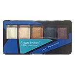 5 Eyeshadow Palette Dry Eyeshadow palette Powder Normal Smokey Makeup / Daily Makeup