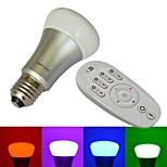 E26/E27 8 W 10 SMD LM RGB Globe Bulbs AC 85-265 V