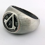 Jewelry Inspired by Assassin's Creed Cosplay Anime/ Video Games Cosplay Accessories Ring Silver Alloy Male